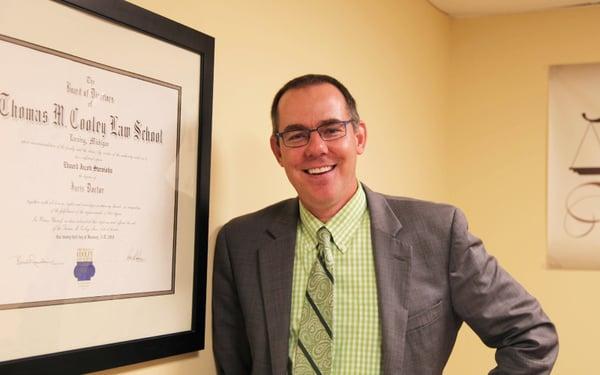 WMU-Cooley graduate Ed Sternisha