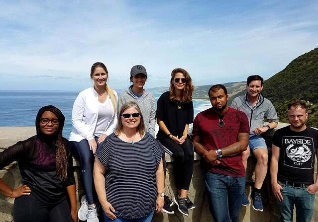 WMU-Cooley Study Abroad students enjoy the Great Ocean Road in Australia