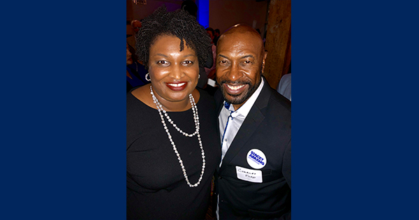 Charles Ford and Stacey Abrams