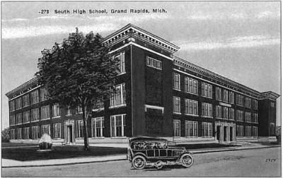 South High School in Grand Rapids -1925