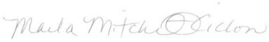marla signature