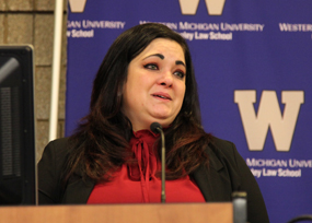 WMU-Cooley student Giuliana Alleveto