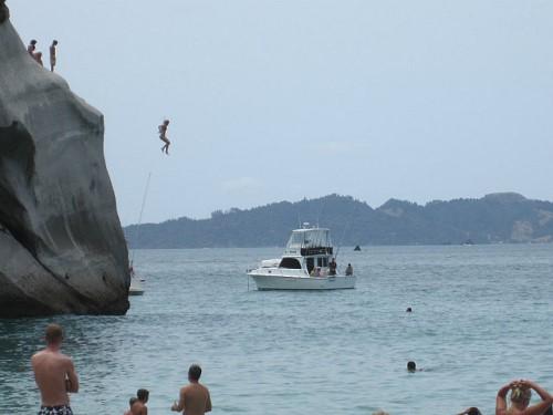NZ cliff
