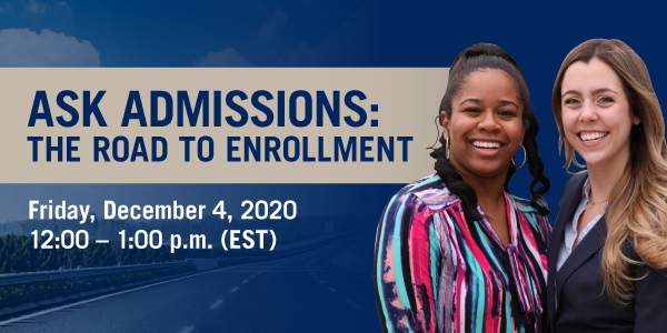 WMU-Cooley_TheRoadToEnrollment_HeaderGraphic_Email_1200x628_11-13-2020 (1)